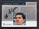 JUNIOR SEAU 1991 PRO LINE PORTRAITS SIGNED AUTOGRAPH CHARGERS CERT AUTHENTIC