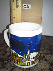 AVON GIFT COLLECTION SLEIGH RIDE SURPRISE CHRISTMAS MUG --NEW--SHIPS IN 1 DAY