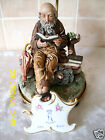 Capodimonte Table Lamp - Old Man By Milio