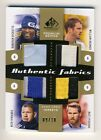 Ricketts Hesmer Rimando Pickens 2011 UD SP Game Used Soccer Quad Gold Patch 9 10