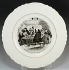 Vintage Pickwick Papers Charles Dickens Collector Plate Mr. Weller
