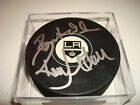 Ron Hextall Signed Los Angeles Kings Hockey Puck Autographed Go Kings!!!!!!!!!!!