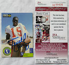 TERRELL OWENS 1996 ROOKIE COLLECTORS CHOICE SIGNED AUTOGRAPH 49ERS COWBOYS JSA