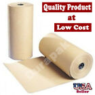 36 40 lbs 900 Ft Brown Kraft Paper Roll Shipping Wrapping Cushioning Void Fill