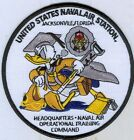 US NAVY PATCH - NAVAL AIR STATION JACKSONVILLE, FLORIDA - DONALD DUCK