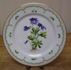 George Briard Birds Foot Violet Dinner Plate Victorian Gardens Purple Flower