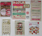 Crate Paper Fourteen Valentine 6 x 6 Paper Pad  Embellishments A Save 60