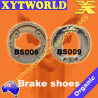 FRONT REAR Brake Shoes for Yamaha AG 100 J E Farm Bike 1982-1993
