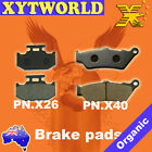 FRONT REAR Brake Pads for Yamaha DT 125 X 2005-2006