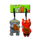 Uglydoll Best Friends Wage & Babo 4-Inch Plush Keychain Backpack Clip Set - Gund