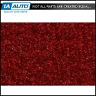 for 1990 93 Geo Metro Convertible Cutpile 815 Red Complete Carpet Molded