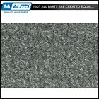 for 1990 93 Geo Metro Convertible Cutpile 807 Dark Gray Complete Carpet Molded