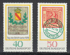 Germany 1978 MNH Mi 980-981 Sc 1281-82 Stamps on stamps Coat of Arms Heraldy
