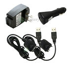 2 USB Cable+Car+Home Wall Charger for Palm Tungsten T5 E2 TX LifeDrive NEW HOT