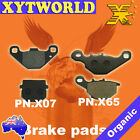 FRONT REAR Brake Pads for Suzuki RM 85 2002-2004
