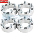 4 5x45 Hubcentric Wheel Spacer Adapters 25mm Thick for Ford Jeep Mazda Toyota