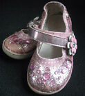 Circo Glittering Ballet Flats Size 7 Pink Sparkly Mary Janes