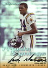 1999 (VIKINGS) Donruss Private Signings #17 Randy Moss 250 AUTO