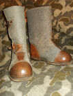 WW2 GERMAN ARMY LUFTWAFFE ELITE SOLDIERS WINTER OVER JACK BOOTS W/HOBNAILS HTF