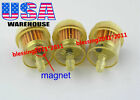 3x HONDA ATV DIRT BIKE INLINE GAS CARBURETOR FUEL FILTER 1/4
