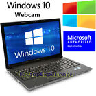 IBM LENOVO LAPTOP THINKPAD 154 WINDOWS 10 CORE 2 DUO CDRW DVD WiFi NOTEBOOK HD