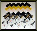 50 4 PITTSBURGH STEELERS Cotton Fabric Quilt Top Squares Kit