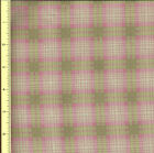 Sentimental Journey Pink and Green Plaid by Robyn Pandolph - 1 yard