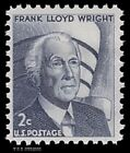 Scott 1280d Frank Lloyd Wright Tagging Omitted Error Prominent Americans Buy Now