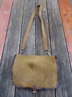 WW2 GERMAN ARMY LUFTWAFFE ELITE BREAD BAG W/ZIPP ZIPPER -TROPICAL TAN - RARE!