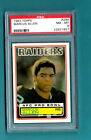 1983 Topps Football - Marcus Allen RC - Oakland Raiders - PSA NM-MT 8