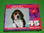 New Childrens 45 pc Floor Jigsaw Puzzle Puppy Dog HUGE 15.7