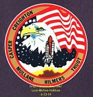 LMH STICKER Badge NASA STS 36 SPACE SHUTTLE Atlantis 1990 Mission Crew Insignia