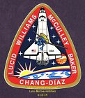 LMH STICKER Badge NASA STS 34 SPACE SHUTTLE Atlantis 1989 Mission Crew Insignia