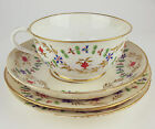 ANTIQUE ROYAL CROWN DERBY DUESBURY ERA CUP SAUCER PLATES 18th c 1790's
