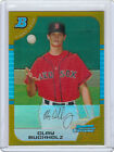 2005 BOWMAN CHROME CLAY BUCHHOLZ ROOKIE RC GOLD REFRACTOR #03 50 RED SOX HOT