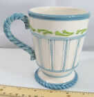 Fitz and Floyd & Seaboard Mug Cup Large Cappuccino Sea Board