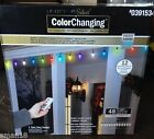 48 Gemmy Color Changing Synchronized Christmas Light Show C9 LED Lights Remote