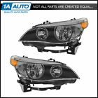 Headlights Headlamps Halogen Left  Right Pair Set for BMW E60 5 Series NEW