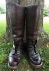 WW2 GERMAN ARMY LUFTWAFFE ELITE SOLDIERS MOTORCYCLE KRAD BOOTS - RARE!