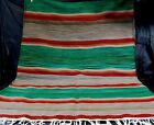 Mexican Serape Throw Blanket Rug Santa Fe Couch Chair Bed Cover Wall Hanging