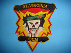 VIETNAM WAR PATCH, US 5th SF Grp MACV-SOG RT VIRGINIA CCN