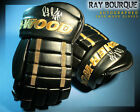 RAY BOURQUE Signed Sher Wood Model Gloves - Boston Bruins