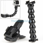 For Gopro Hero 3+ 3 2 1 Camera Accessories Jaws Flex Clamp Mount Adjustable Neck
