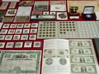 INCREDIBLE 1 US COIN COLLECTION! LOT # 7472 ~ SILVER~GOLD~MORE PROOF MI