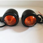 Amber TURN SIGNAL LIGHT Indicator Motorcycles Bikes Choppers Crusiers Touring