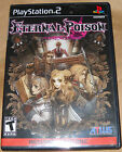 PS2 PLAYSTATION 2  ETERNAL POISON with Bonus Disc Booklet Rated Teen