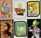 SIMPSONS MANIA (INKWORKS 2001) COMPLETE 72 CARD BASE SET W PACK WRAPPER