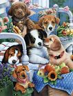Masterpieces - Gardening Buddies Dogs Jigsaw Puzzle - 300 Big Easy Grip Pieces