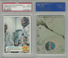 1969 Topps, Man On The Moon, #12 Command Pilot, PSA 8 NMMT