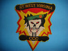 VIETNAM WAR PATCH US 5th SPECIAL FORCES MACV-SOG RT WEST VIRGINIA CCC